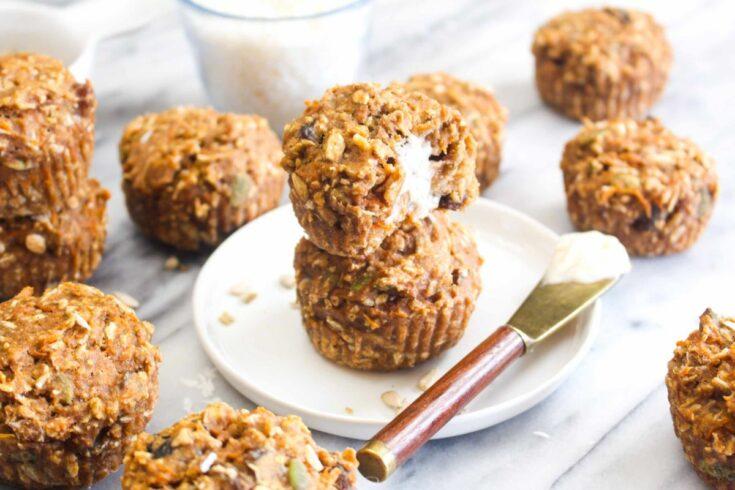 Gluten free morning glory muffins recipe