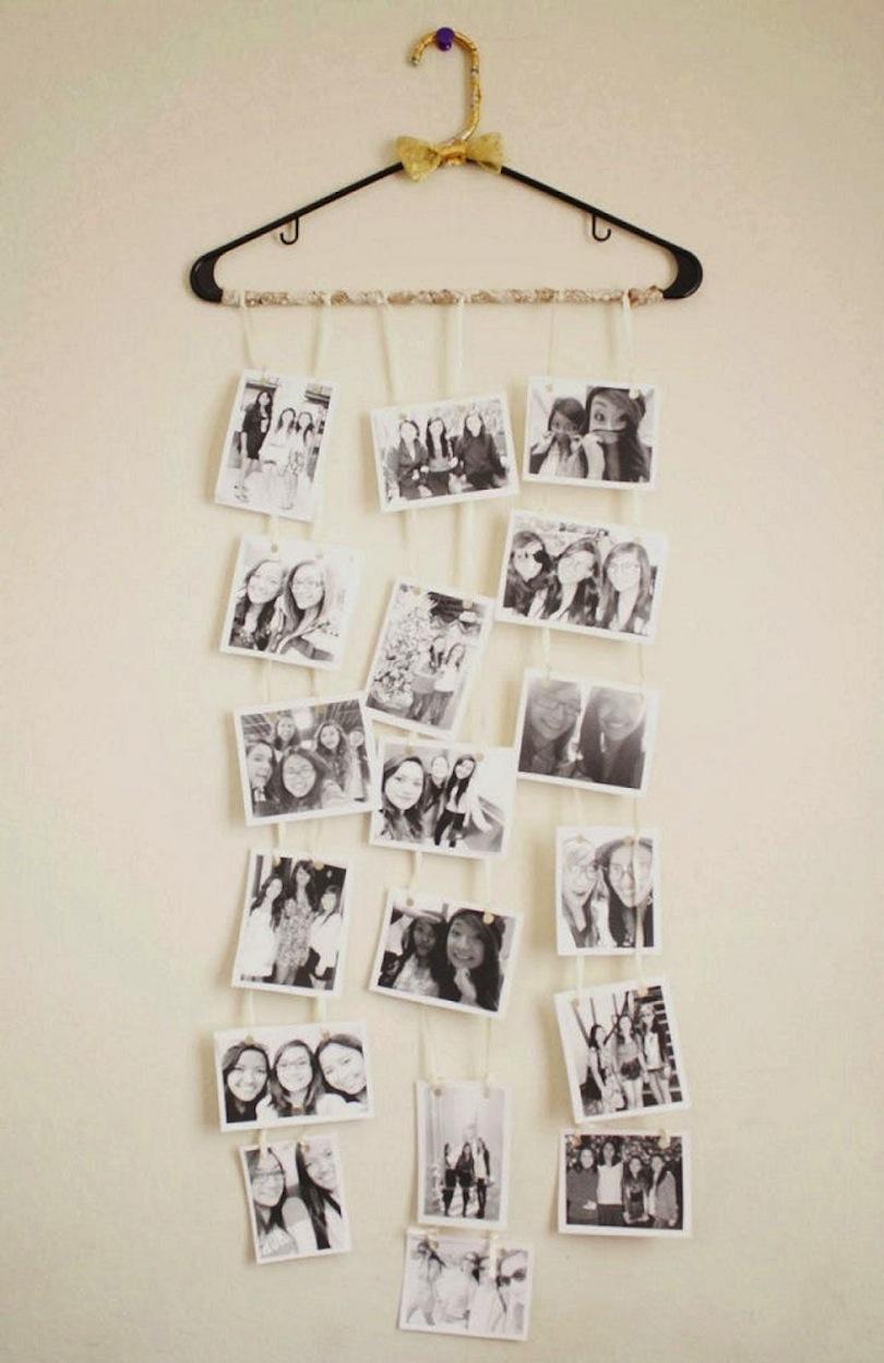 Hanger photo strings