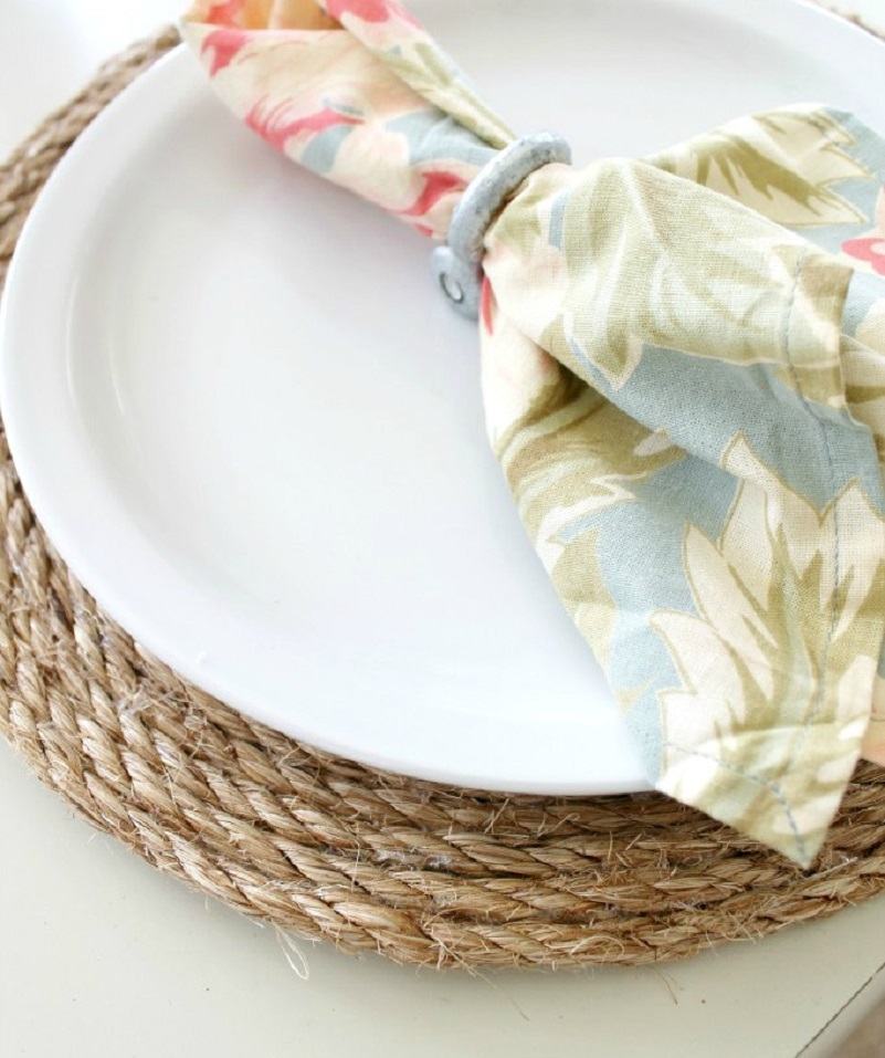 Jute rope placemats