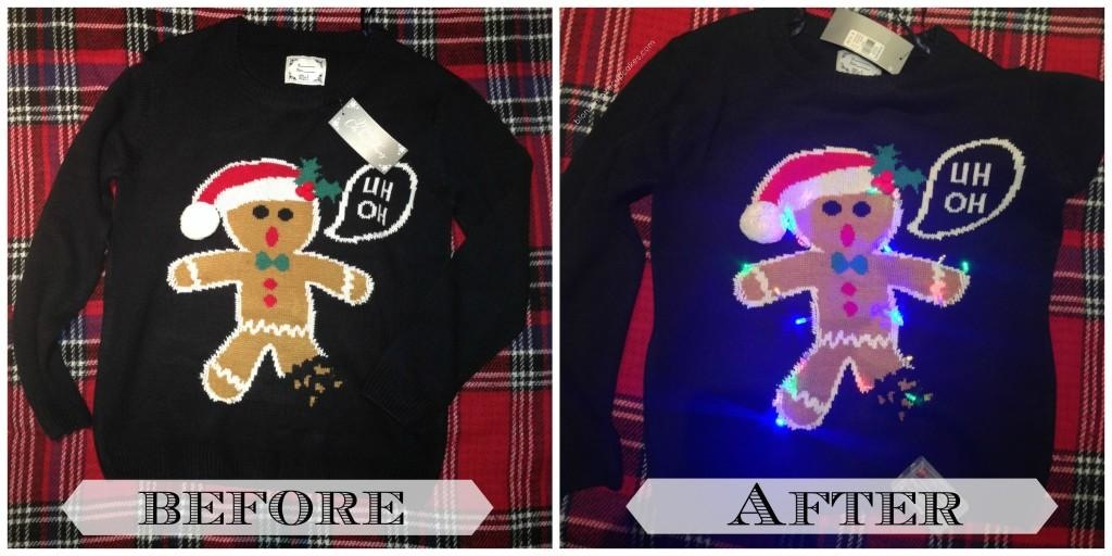 Light up sweater