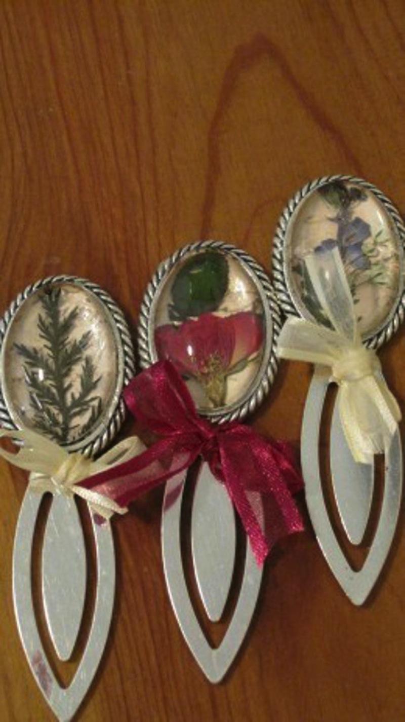 Little blossom bookmarks