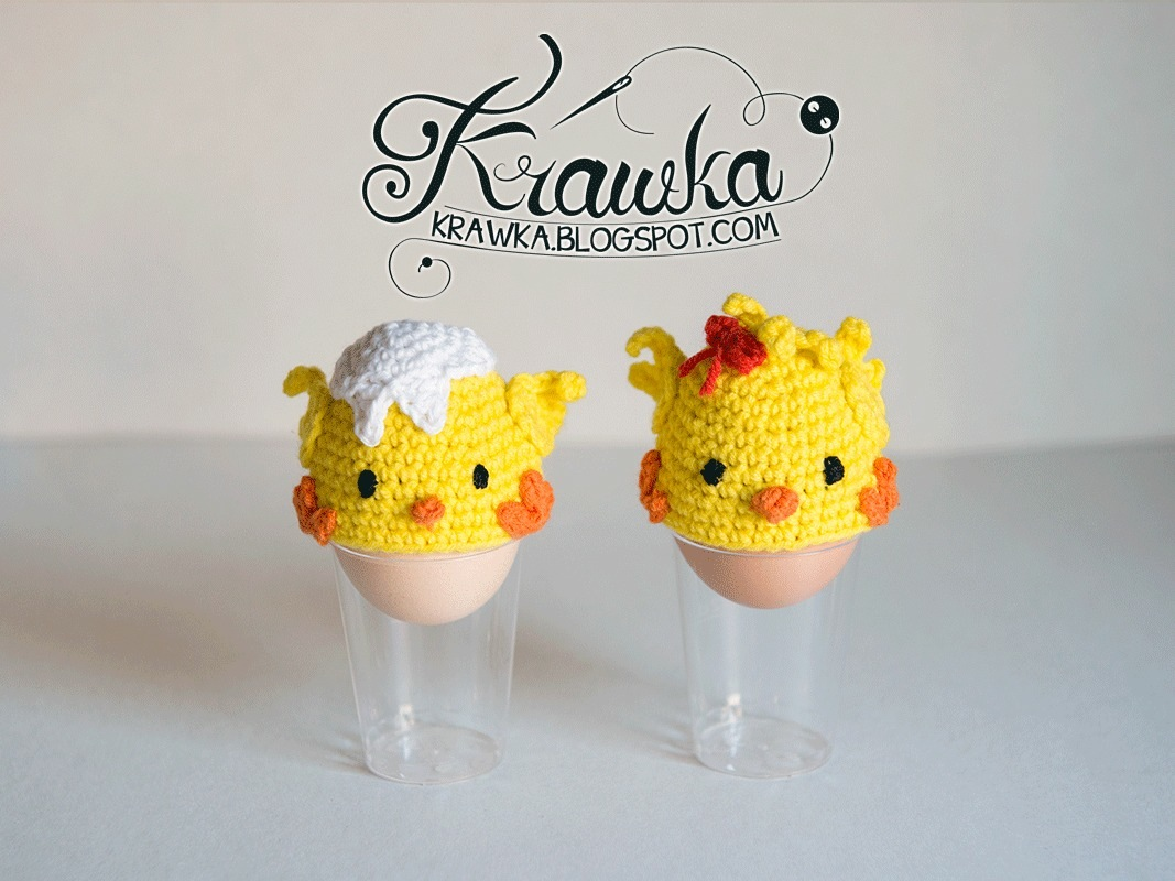 Little chick egg covers