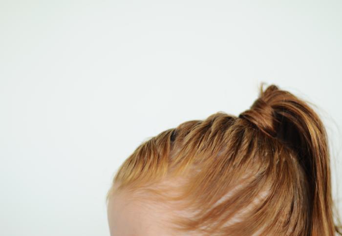 Mermaid braid toddler hair