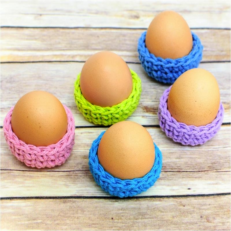 Mini easter egg baskets