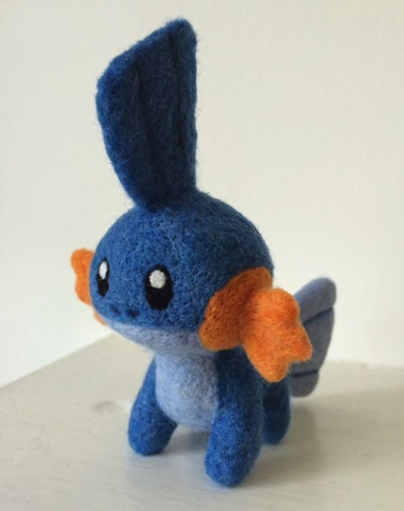 Mudkip from pokemon