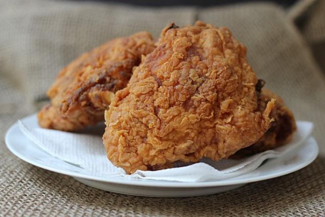 Pressure cooker fried chicken
