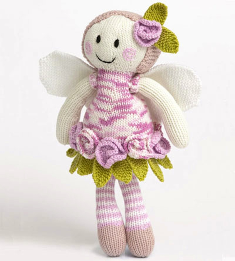 Rose fairy doll