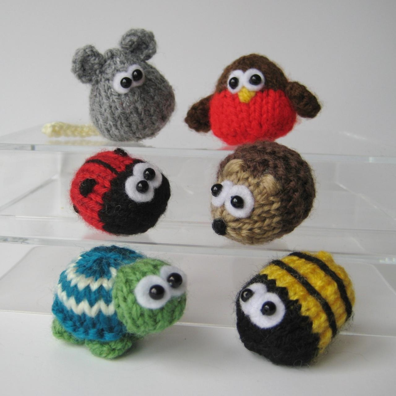 Teeny animal toys