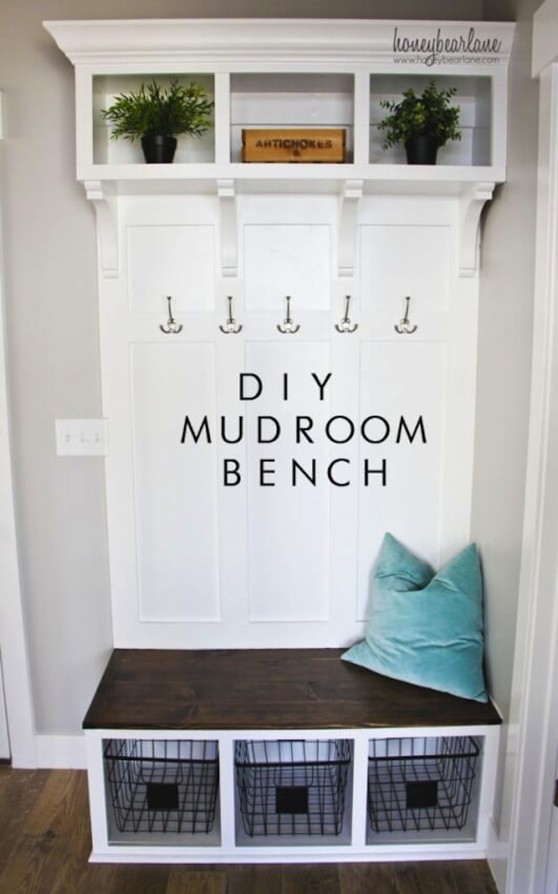 Ultime diy mudroom bench