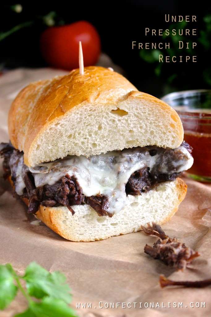 Under pressure french dip