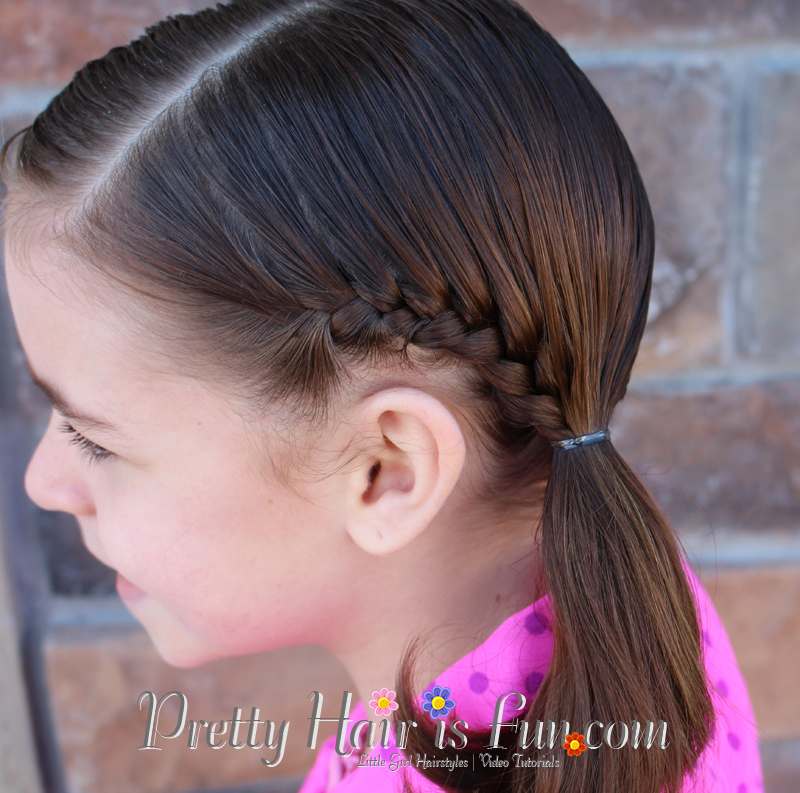 Vampire diaries french braid toddler hair ideas