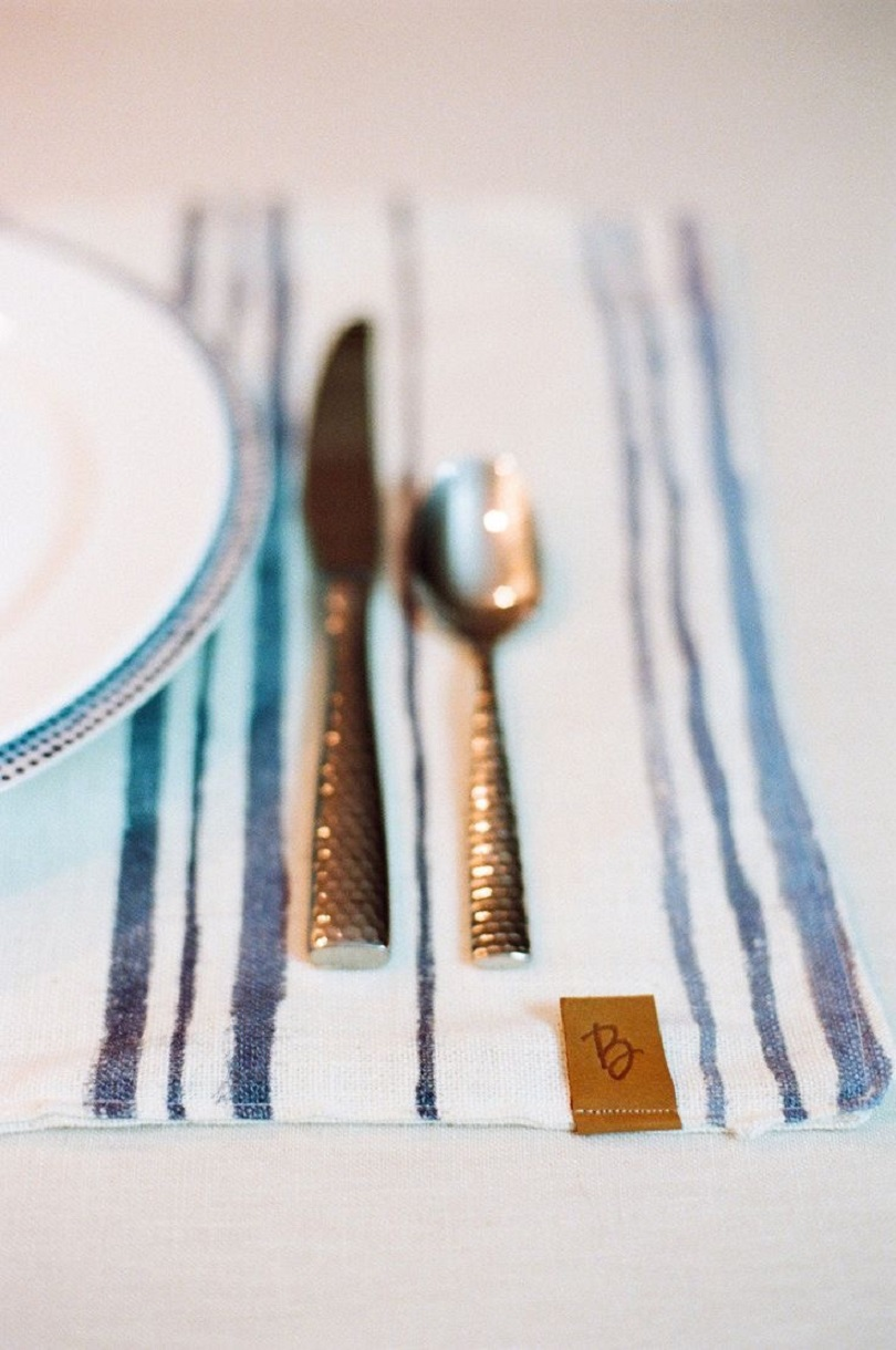 Watercolour placemats