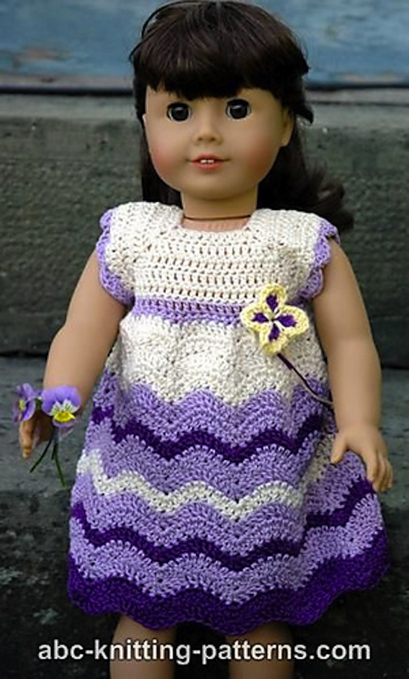 Wisteria chevron dress