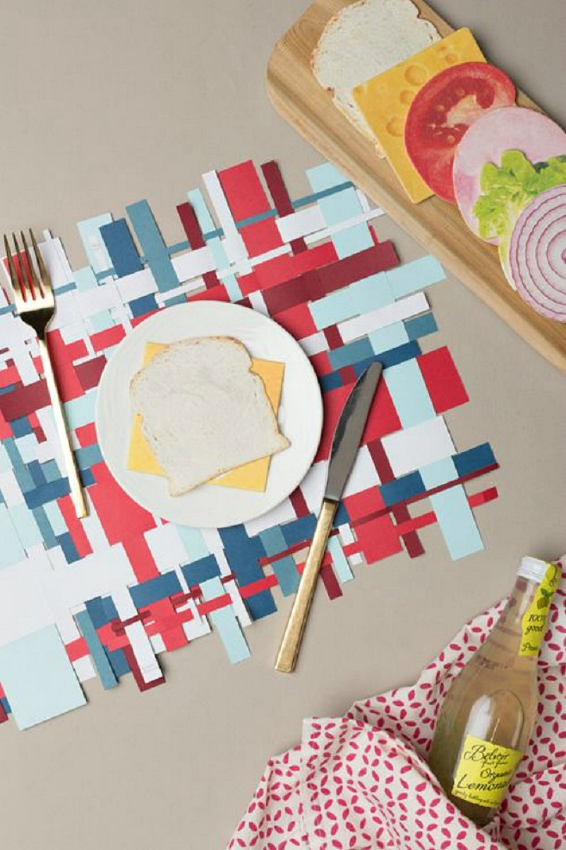 Homemade Placemat Ideas