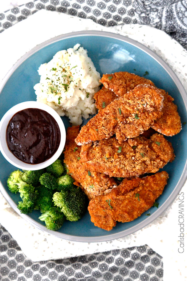 Best baked fried chicken made with cornmeal