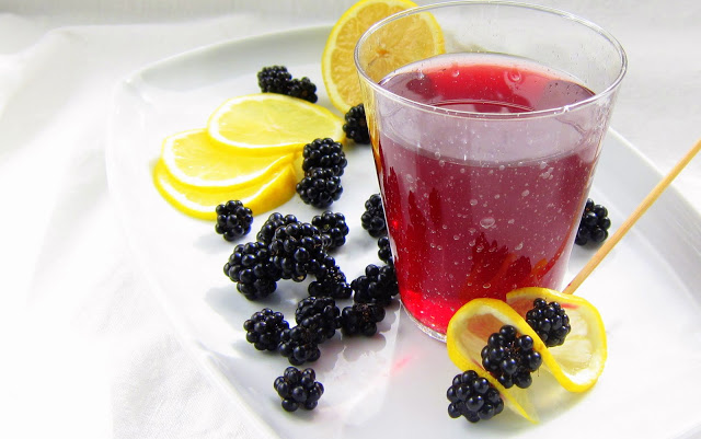Blackberry italian soda pressure cooker recipe