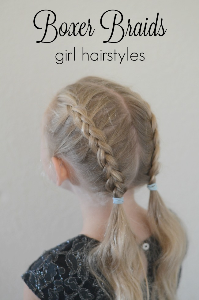 Boxer braids girl hairstyles