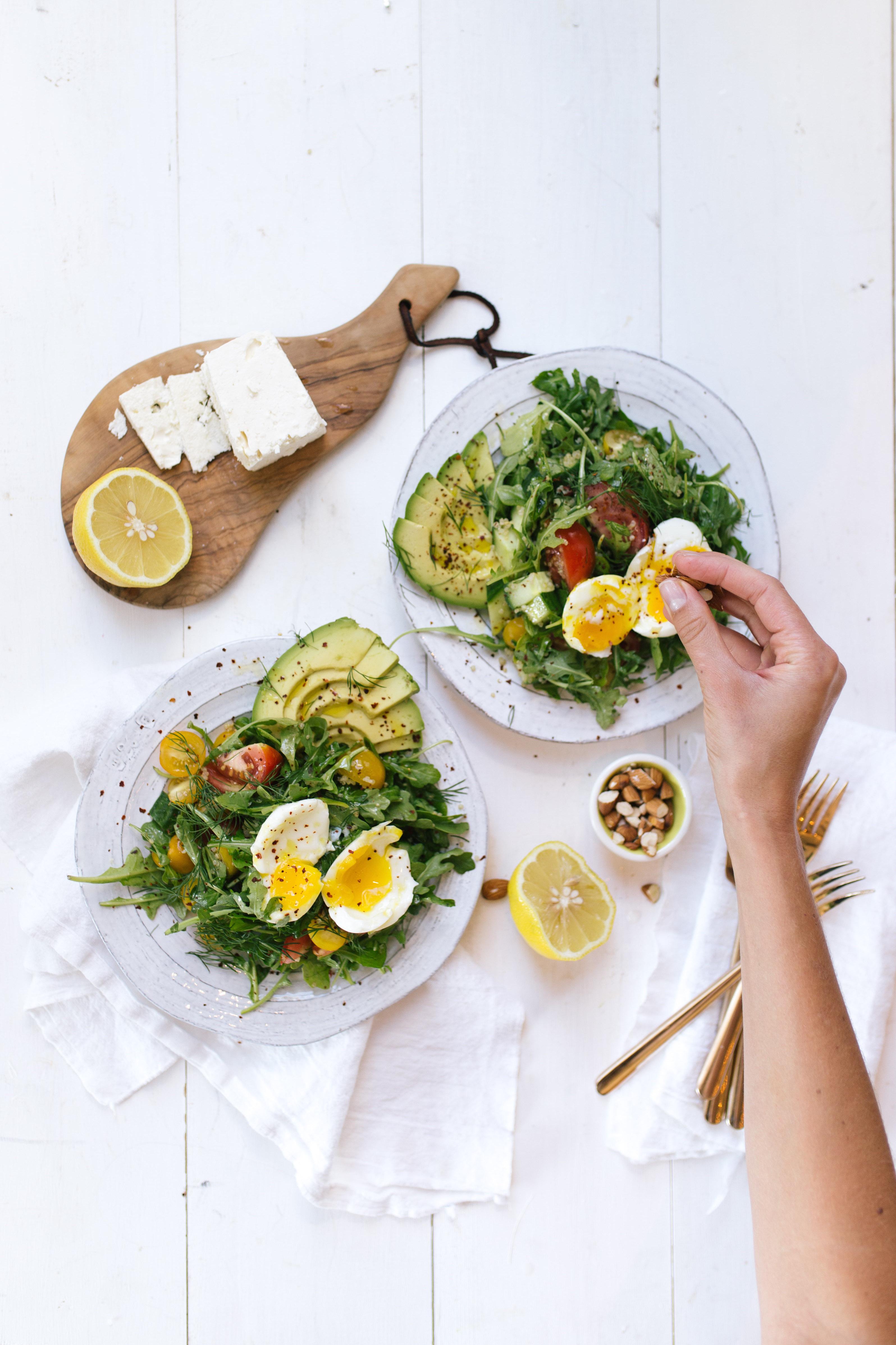 Breakfast salad recipe
