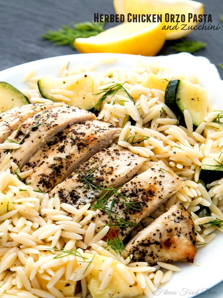 Chicken orzo pasta