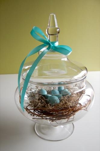 Diy robin's egg nest