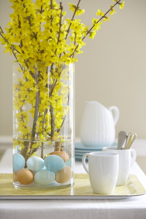 how to make easter centerpieces