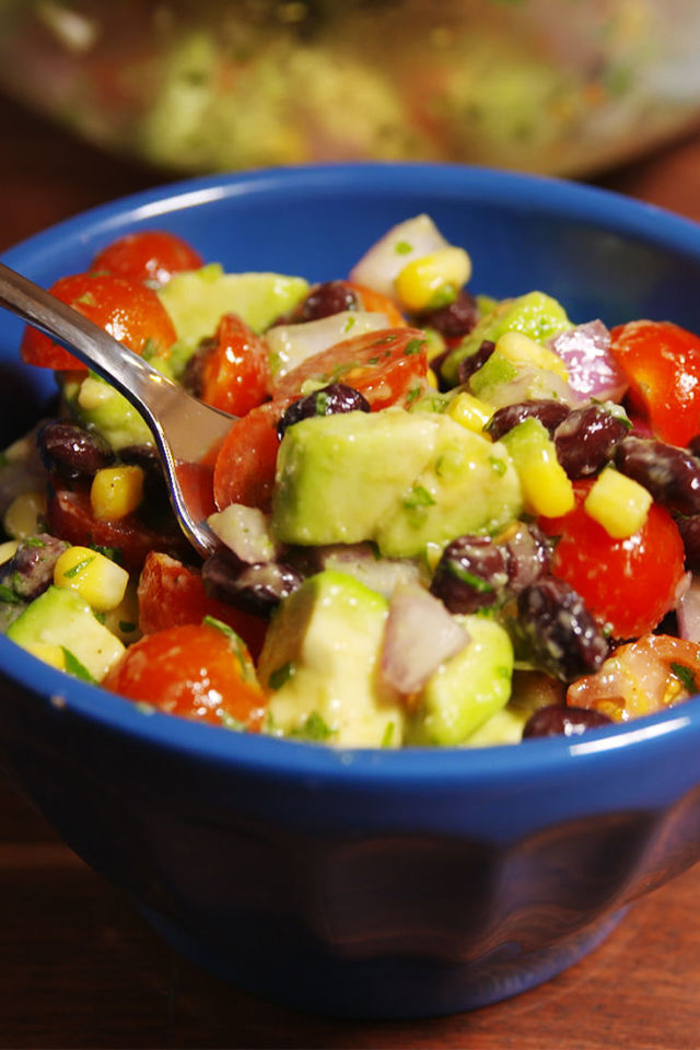 Guacamole salad recipe