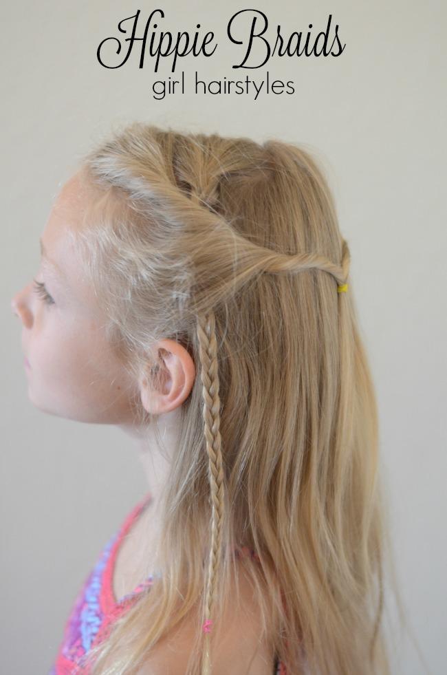 Hippie braids girl hairstyles