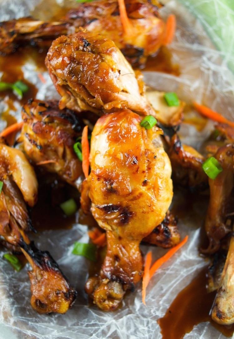 Instant pot ginger garlic drumsticks recipe 1