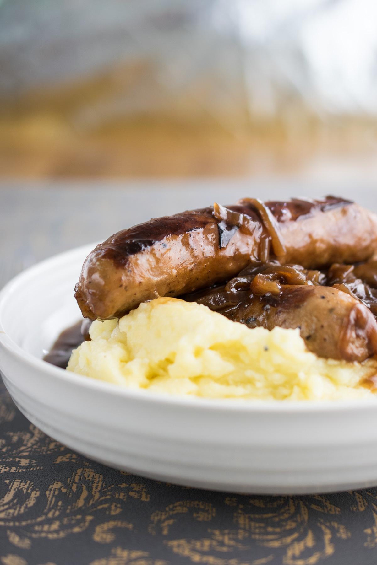 Instant pot sausage mash recipe