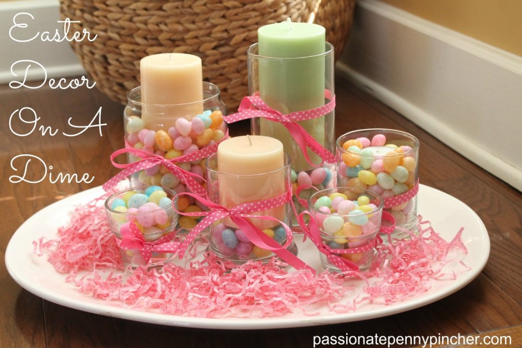 These diy easter centerpieces will make sunday dinner