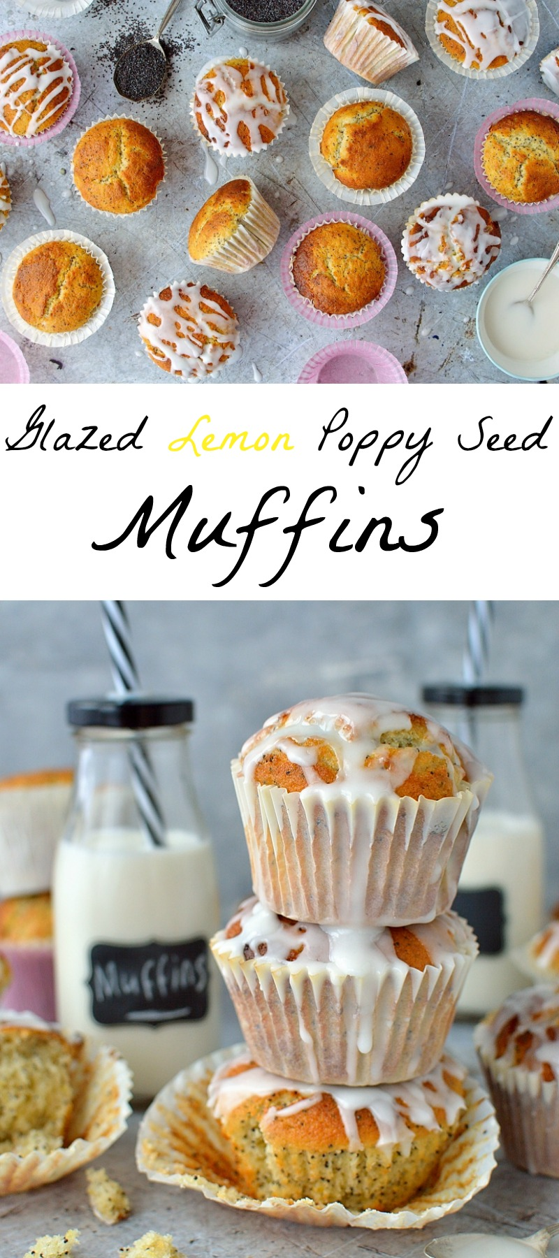Lemon poppy seed muffins pinterest