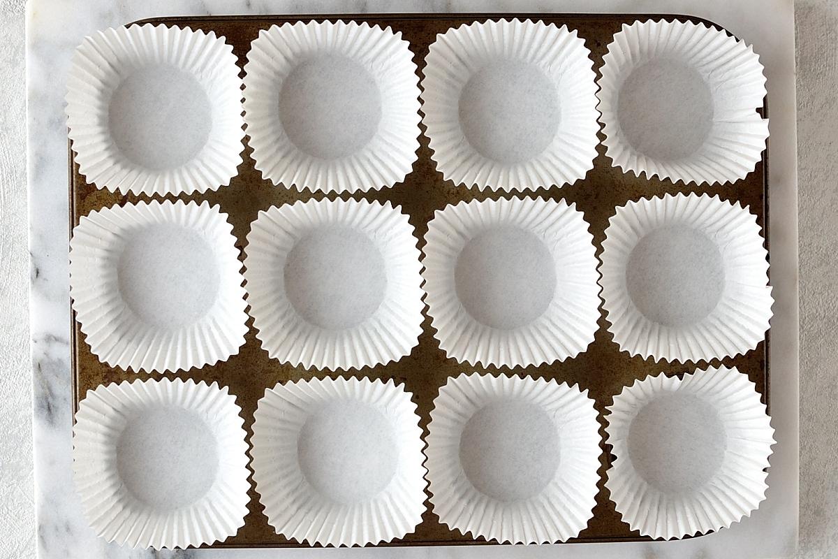 Lemon poppyseed muffins step 1