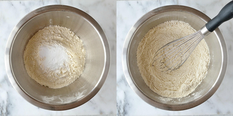 Lemon poppyseed muffins step 2