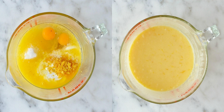 Lemon poppyseed muffins step 3