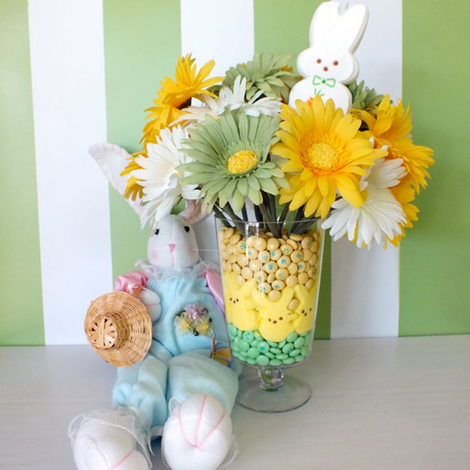 Peeps centerpiece diy