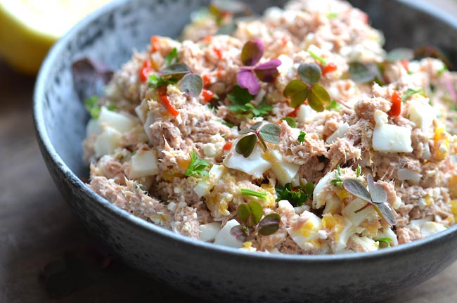 Spicy tuna salad recipe