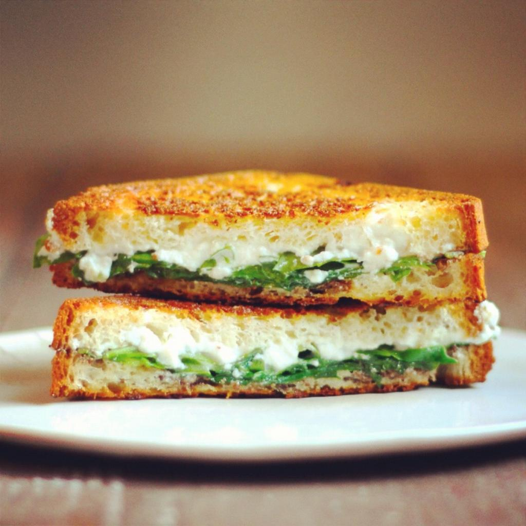 Truffled ricotta arugula grilled recipe
