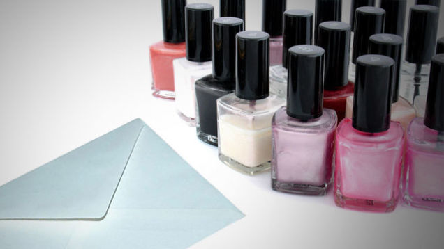 Nail Polish Envelope Seal