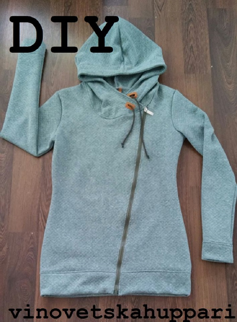 258976d9e DIY Sweatshirt Alterations and Patterns