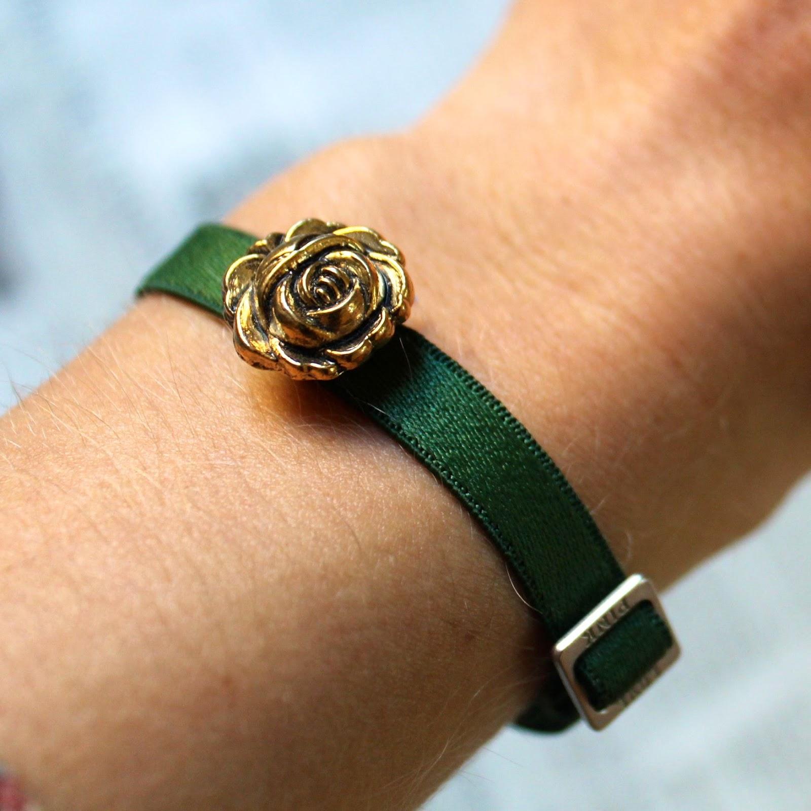 Adjustable bra strap bracelet