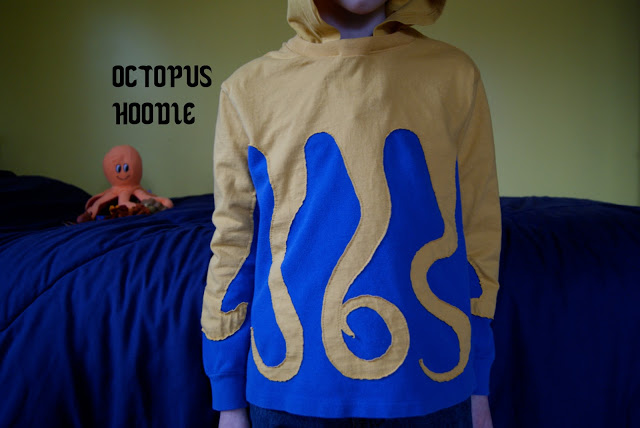 Awesome octopus hoodie
