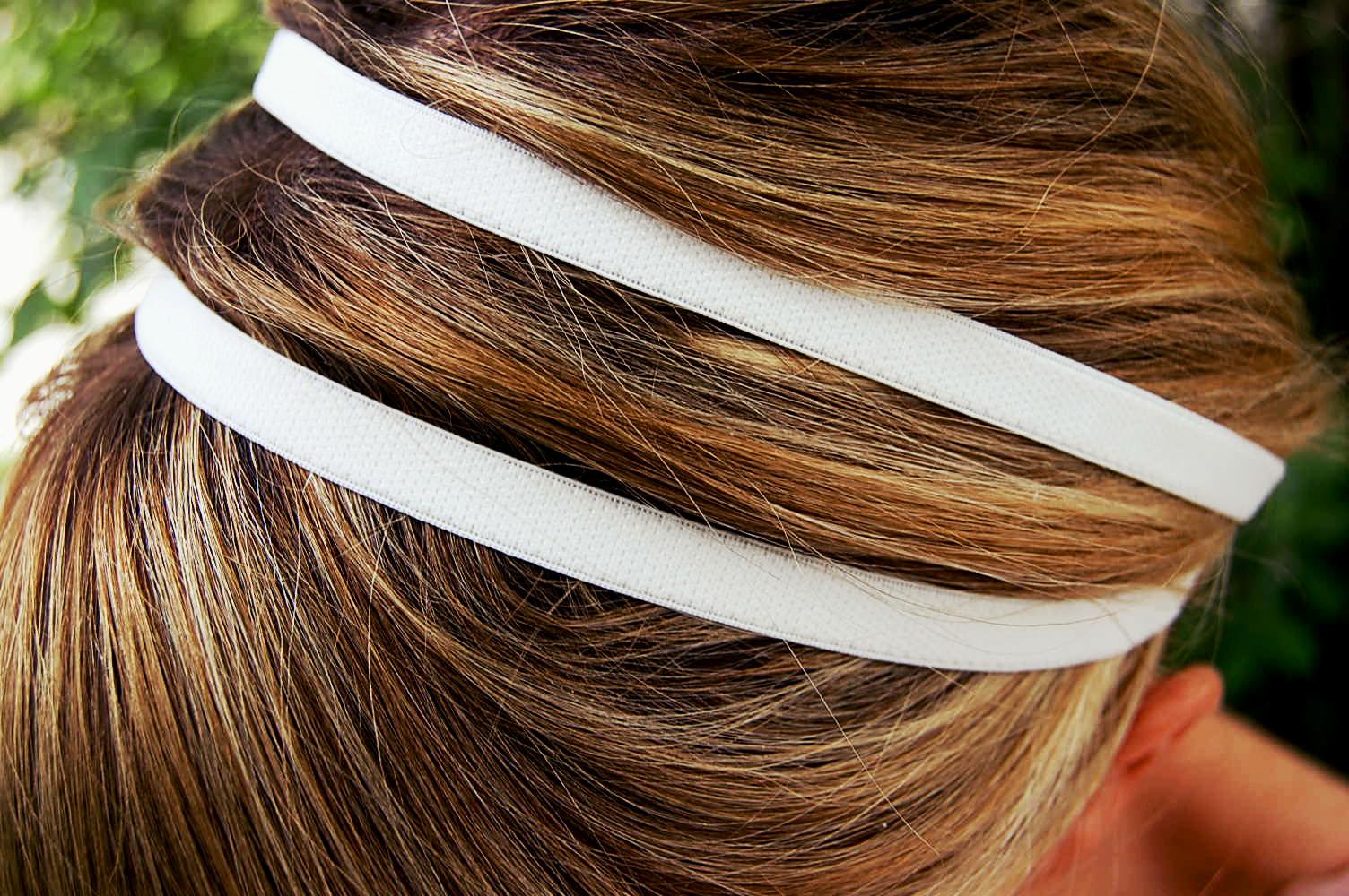 Bra strap headband