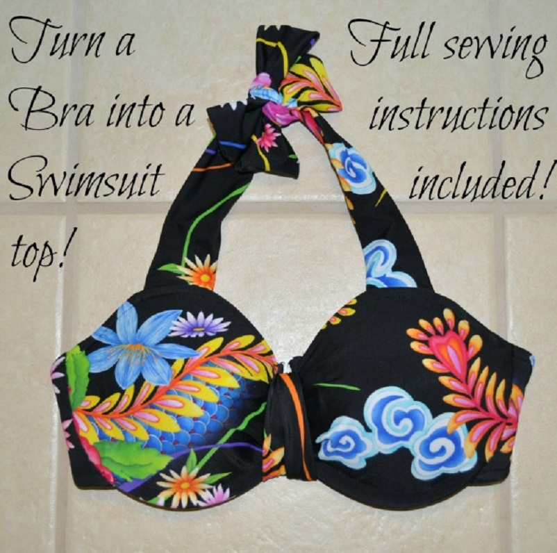 Bra to bathing suit top