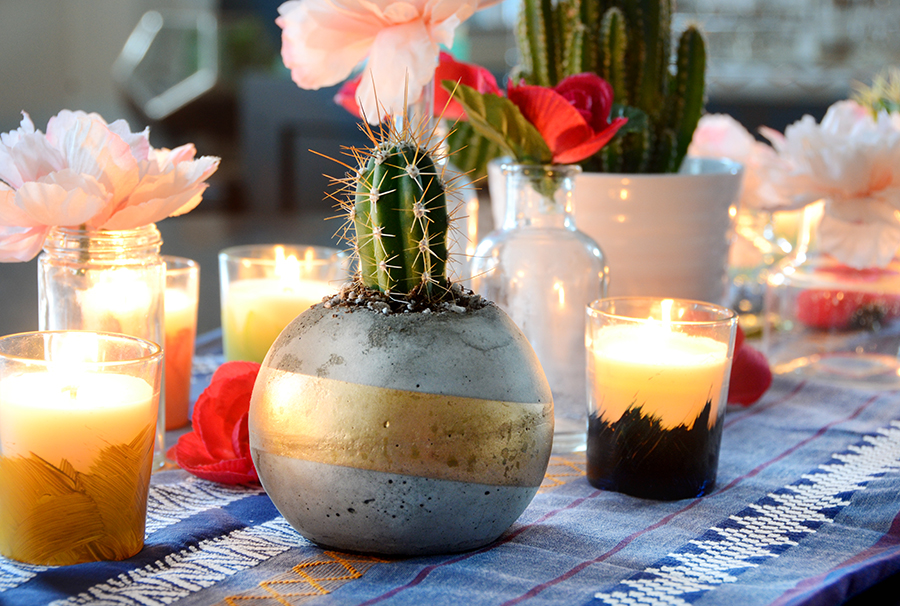Cinco de mayo centerpiece diy 8