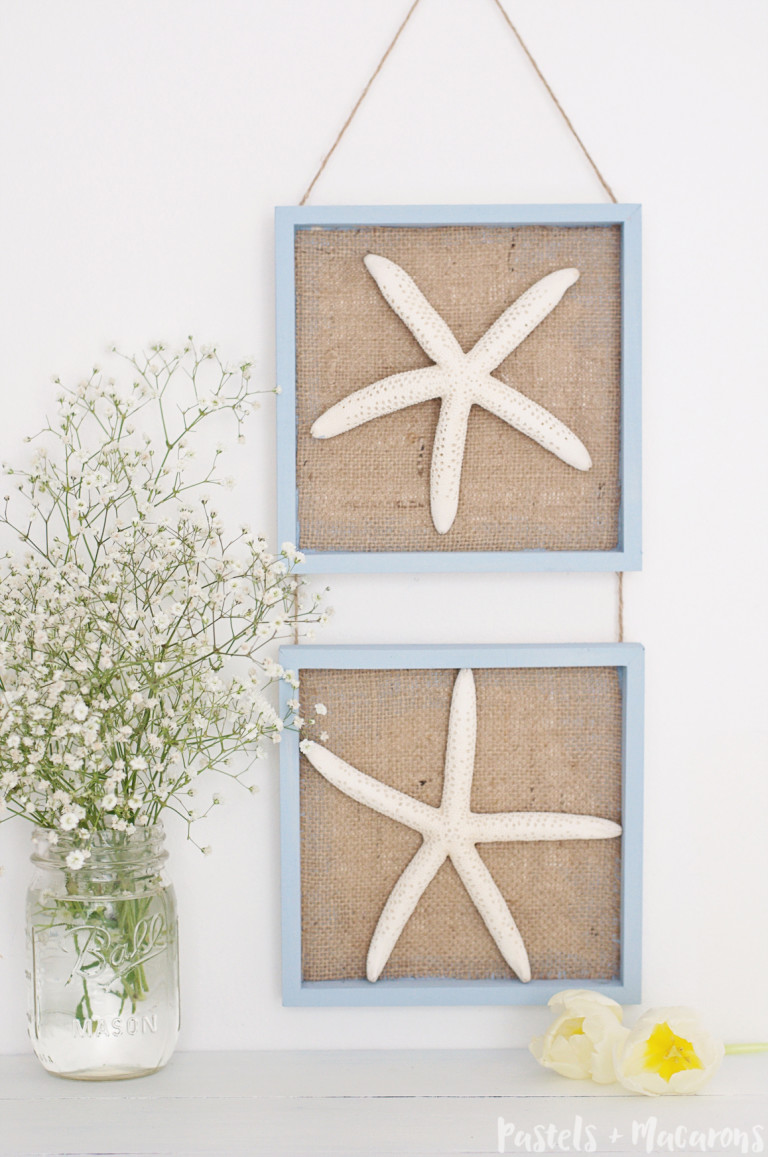 Coastal wall art diy
