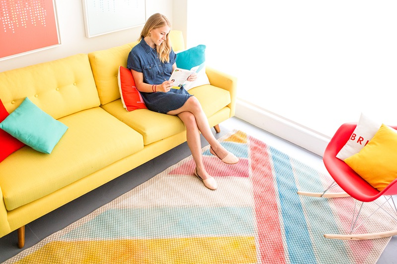 Diy anthro beach rug
