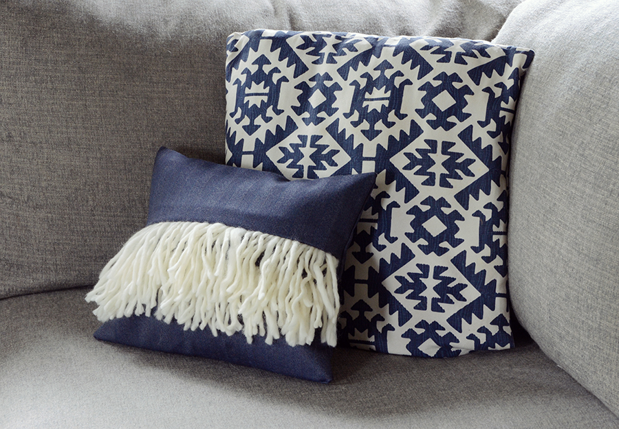 Diy boho fringe pillow cover 13