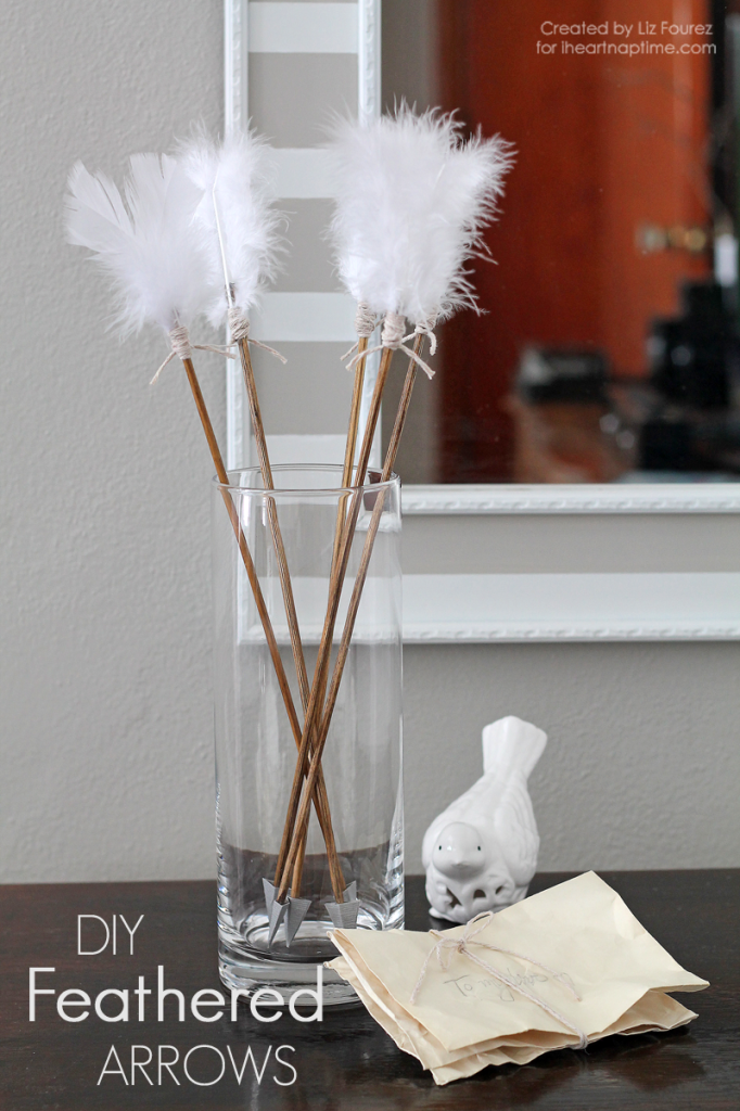 Diy feathered arrows