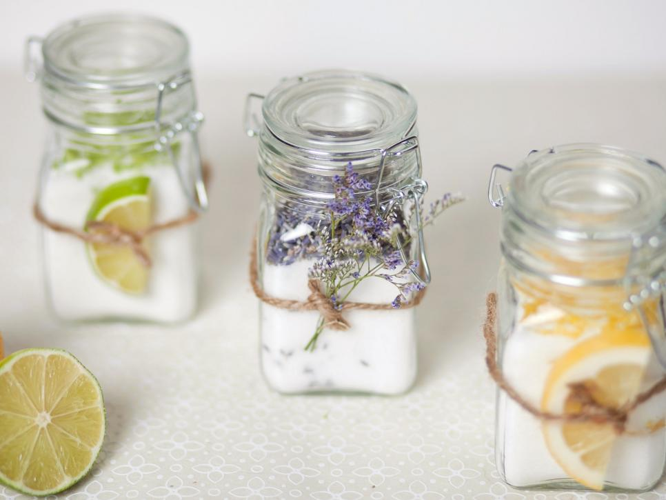 Diy infused sugar favor