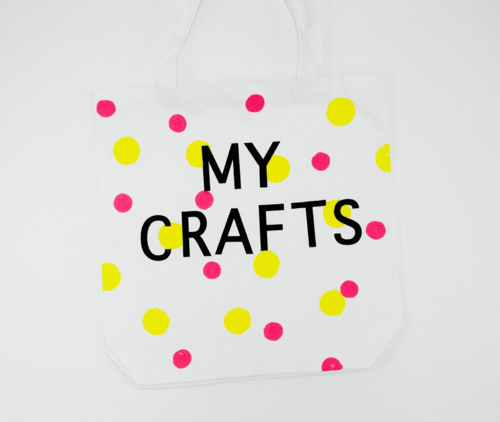 Diy letter transfer tote bags my crafts